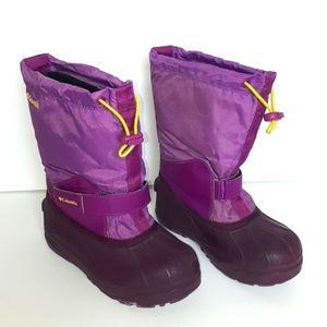 Columbia Powderbug™ Forty Snow Boot Girls Size 2